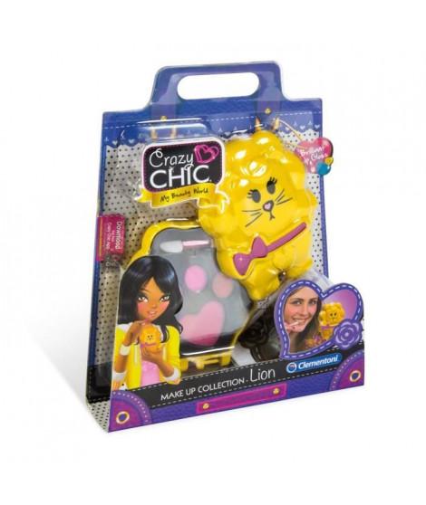 CLEMENTONI Crazy Chic - Mini palette de Maquillage Enfant - Modele Lion