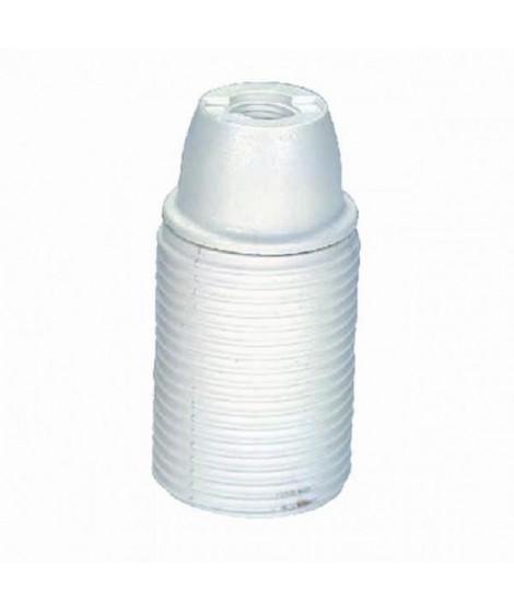 VOLTMAN Accessoire d'Éclairage Douille Filetée Plastique Blanc (Lot de 3)