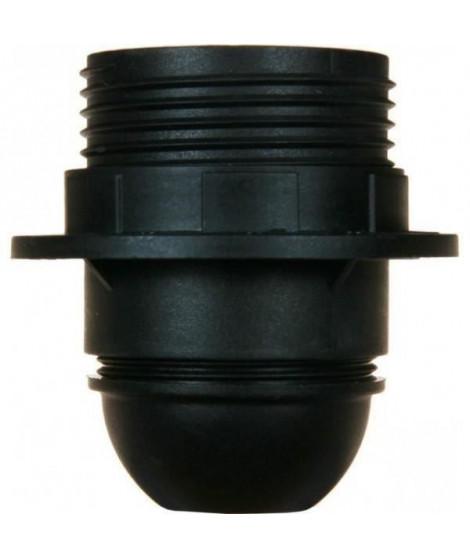 VOLTMAN Accessoire d'Éclairage Douille avec Bague plastique Noir (Lot de 3)