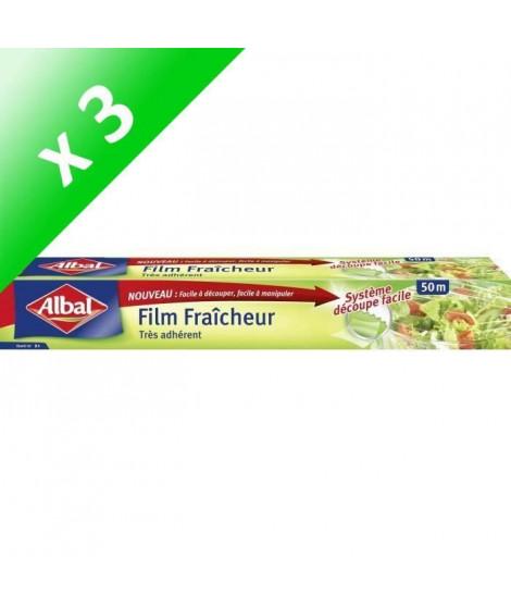 ALBAL Film fraîcheur - 50 x 0,325 m (Lot de 3)