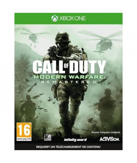 Call of Duty Modern Warfare Remastered Jeu Xbox One