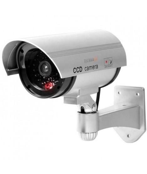 TECHNAXX Caméra de surveillance factice TX-18 CCD filaire - Lot de 2 exemplaires