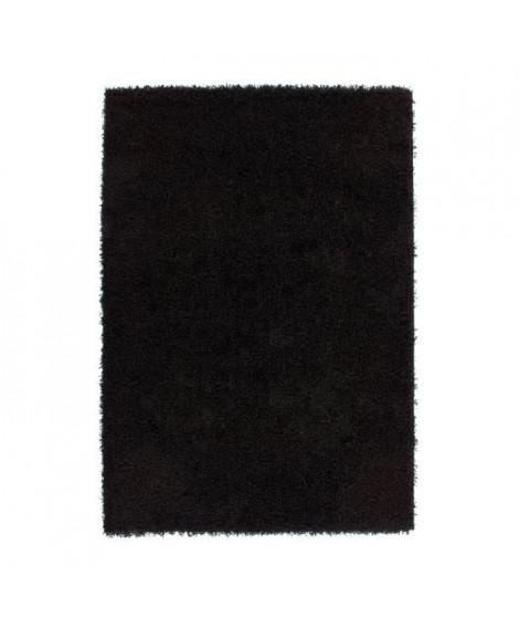 NAZAR Grand tapis Shaggy Trendy 200x280 cm noir