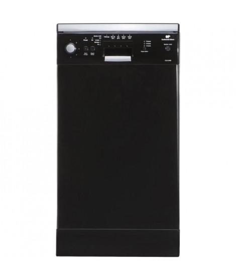 CONTINENTAL-EDISON CELV1048B - Lave-vaisselle posable - 10 couverts - A - 48dB - Noir