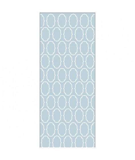 PLAGE Panneau en intissé Panoramique - Sienna bleu240x98cm