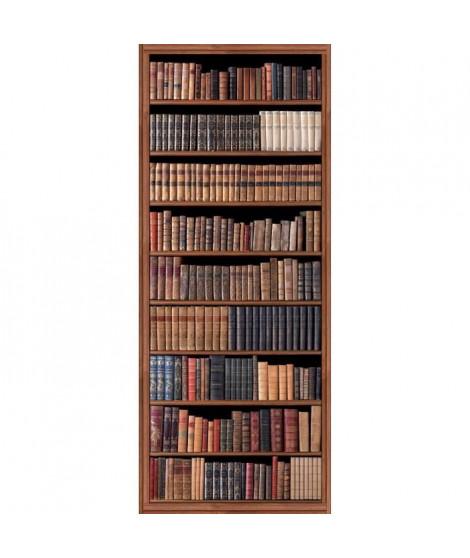 PLAGE Panneau en intissé Panoramique - Bibliotheque d'antan240x98cm