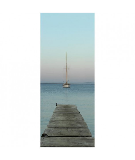 PLAGE Panneau en intissé Panoramique - Ponton240x98cm