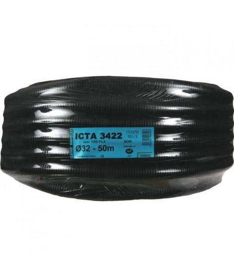 JANOPLAST Gaine ICTA avec tire fil/lubrifiée - Diametre 32 mm - 50 m