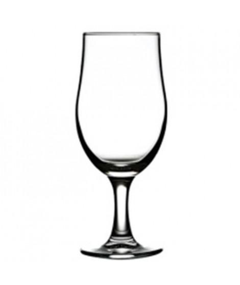 PASABAHCE 7574942 Lot de 6 verres a bieres - 38cl - 7,1 x 18,8 cm
