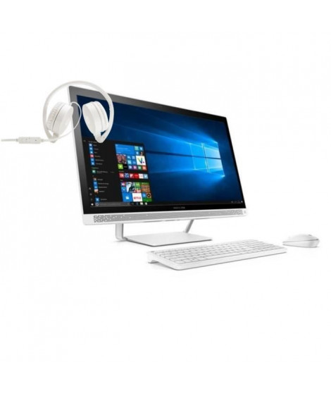 "HP PC Pavilion Tout-en-un - 27""- 27a211nf - 4 Go de RAM - Windows 10 - INTEL CORE I3-  NVIDIA GT930MX - Disque dur 1To + casque"