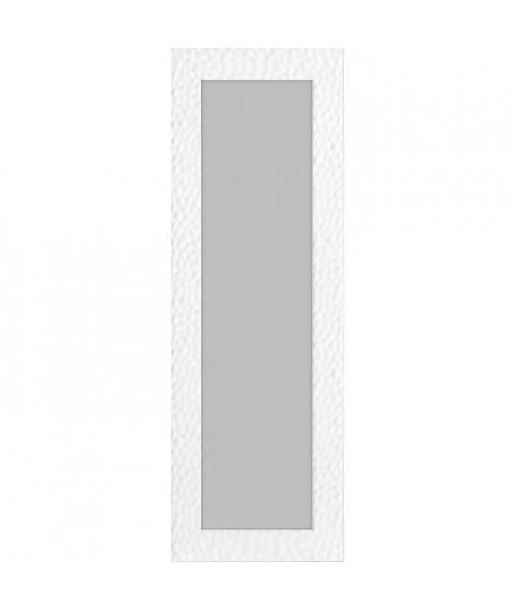 ROME Miroir psyché mdf 47x137 cm Blanc brillant