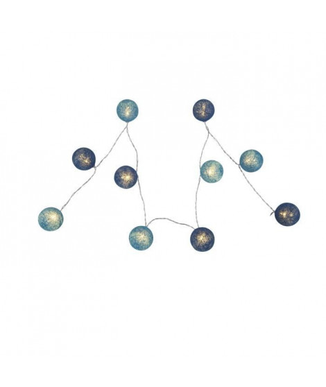 GLOBO Guirlande lumineuse LED L135 x l6 x h6 cm - Multicolore