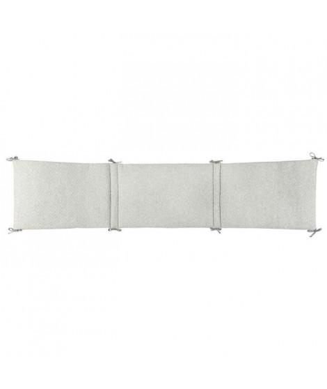 NATTOU - Pure gris Tour de lit coton 180x40cm