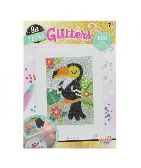 BUKI Tableau diamants animaux Toucan