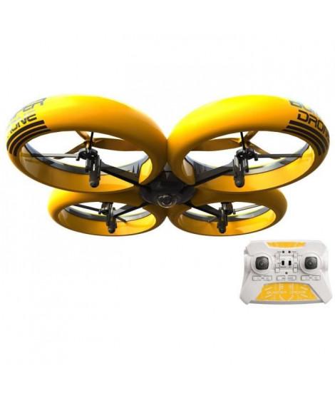 FLYBOTIC - Bumper Drone avec caméra HD - Drone Radiocommandé Enfant 40 cm avec caméra HD intégrée - 2,4Ghz - 8 ans et +