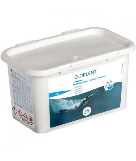GRE Galettes de Chlorelent - 1 Kg - Permet de détruire tous les organismes, champignons et bactéries