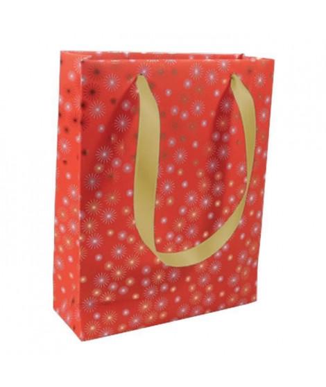 CLAIREFONTAINE Sac moyen format Premium Etincelles Noël - 17 x 6 x 22 cm