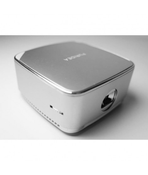 PURIDEA W1 - Pico-projecteur Bluetooth - Blanc