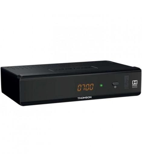THOMSON THT 741 Décodeur TNT Full HD -DVB-T2 - Compatible HEVC265 - Récepteur/Tuner TV avec fonction enregistreur (HDMI, Péri…