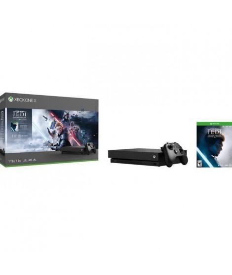 Xbox One X 1To Star Wars Jedi : Fallen Order + 1 mois d'essai au Xbox Live Gold et au Xbox Game Pass