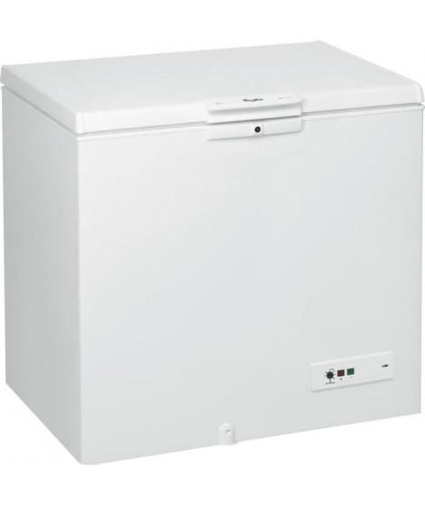 WHIRLPOOL - WHM25112 - Congélateur coffre - 251L - A++ - L101cm x H91,6 - Blanc