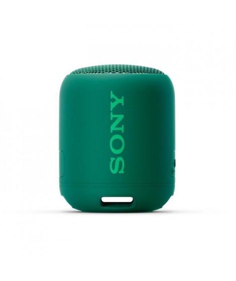 SONY SRSXB12G Enceinte Bluetooth EXTRA BASS 16h compact wireless speaker ? Green