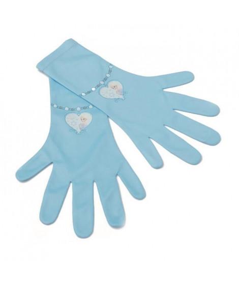 DISNEY Gants Elsa - Bleu