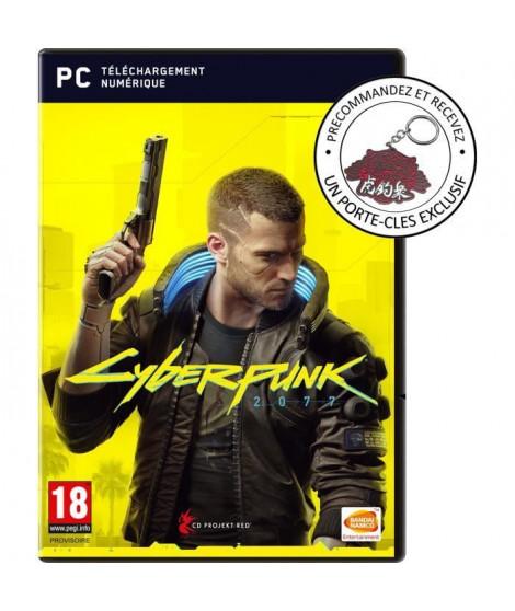 CYBERPUNK 2077 Edition Day One Jeu PC ( code de téléchargement dans la boite ) + Bonus de précommande
