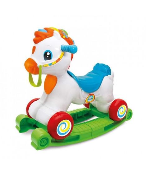 CLEMENTONI Baby - Mahé mon cheval adoré - Cheval a Bascule et Porteur