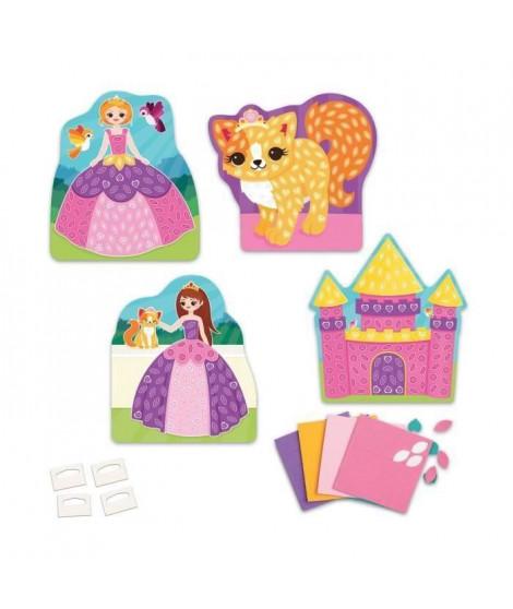 ORB Mes Premieres Mosaiques Autocollantes Princesse (Lot de 2)