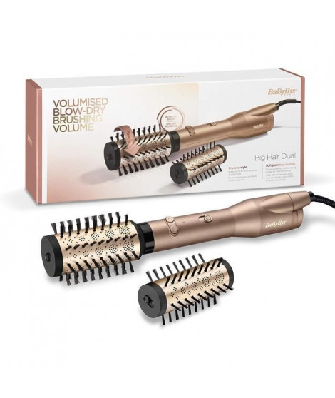 BABYLISS AS952E BROSSE SOUFFLANTE ROTATIVEBig Hair Dual