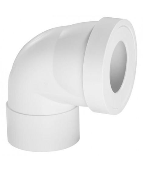WIRQUIN Pipe rigide courte - Coudée femelle - Ø 100 mm