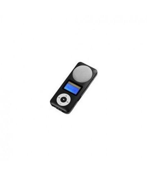 MPMAN Baladeur MP3 Fiesta 2 - Haut - parleur intégré - MP3/WMA - Lecteur de carte micro SD (jusqu'a 16GB) - Autonomie 10h