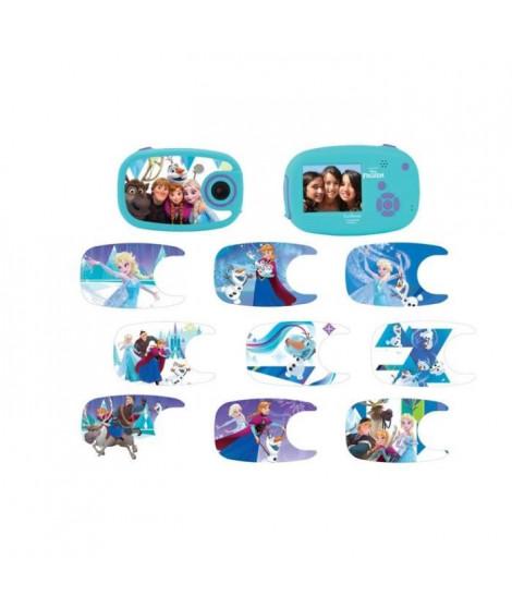 LEXIBOOK - La Reine des Neiges - Appareil photo numérique avec 10 stickers