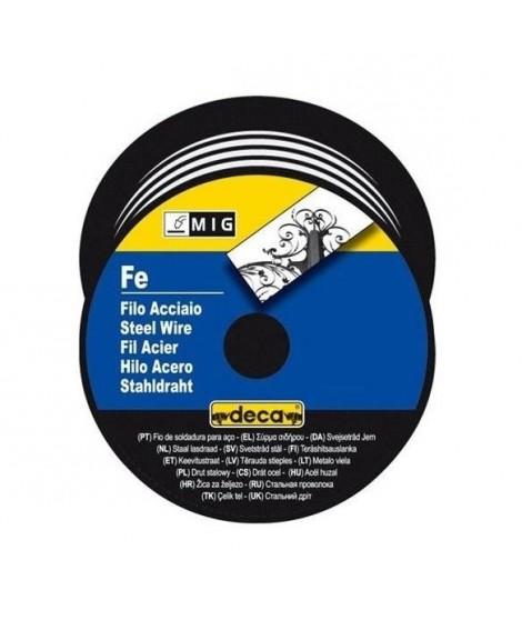 DECA Bobine fil acier pour soudure MIG/MAG 0,8mm 700g
