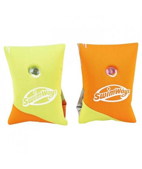SWIMWAYS Brassards En Tissu Oranges et Verts