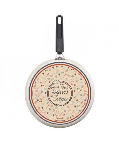 TEFAL  Chandeleur Crepiere 25 cm  + spatule Tous feux sauf Induction B6761002