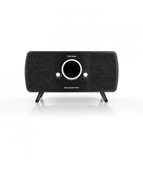 TIVOLI Music System Home - Systeme HiFi - CD, Bluetooth, WiFi, AM, FM, DAB/DAB+ ART line - Noir