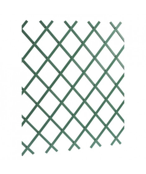 LAMS Treillage PVC lisse - 2 x 1 m - Vert
