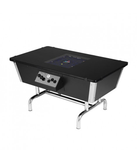 NEO LEGEND Borne d'arcade Table 80s chrome