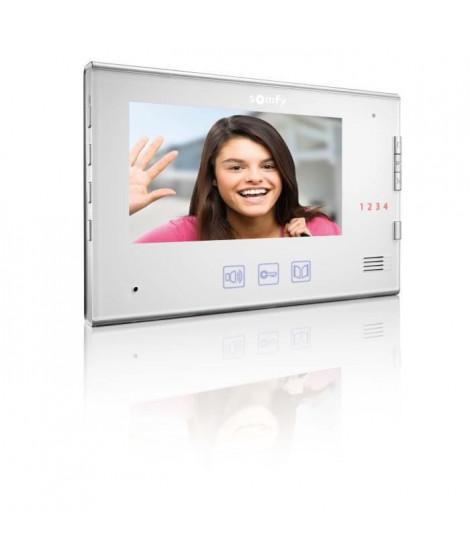 SOMFY Moniteur intérieur - Pour visiophone V400 - Blanc