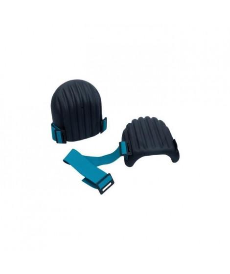 MEISTER Genouilleres Connex - 1 paire - Polyurethane - Noir