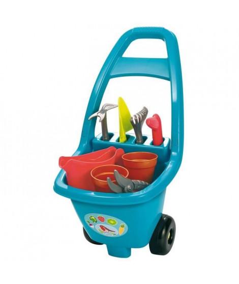 ECOIFFIER - 4479 - Chariot jardinage garni