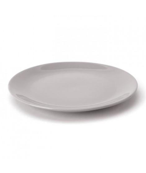 TTD Lot 6 ass plates A04967/01 26cm - gris