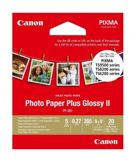CANON Papier Photo Carré 9x9 cm