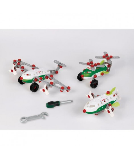 Bosch - Set de construction Aircraft Team 3 en 1