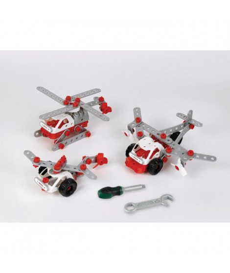 Bosch  - Set de construction Helicopter Team 3 en 1