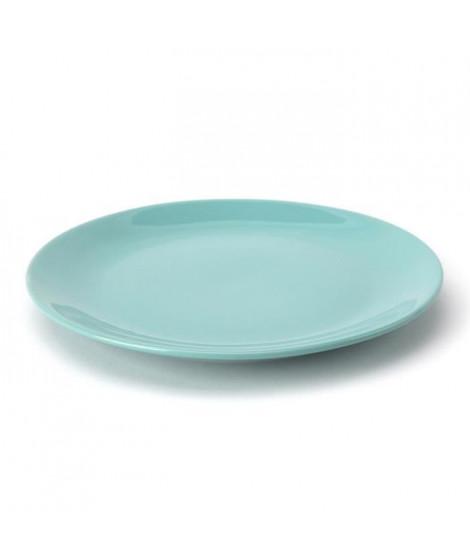TTD Lot 6 ass plates A04977/01 26cm - vert bleu