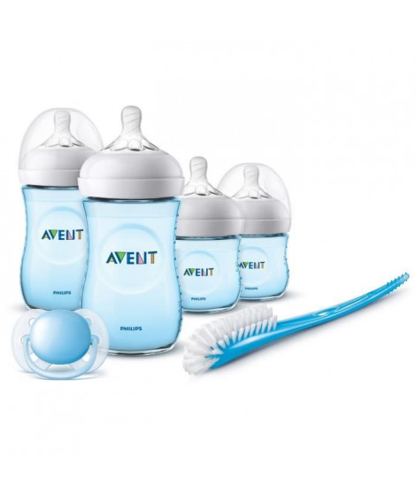 PHILIPS AVENT SCD301/04 Kit nouveau né Natural 2.0 Bleu