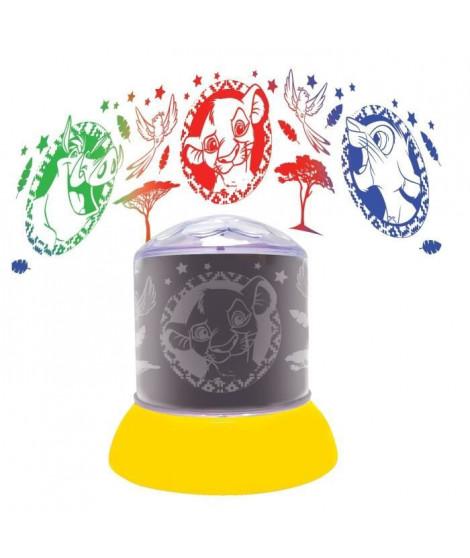 Veilleuse avec projections Roi Lion